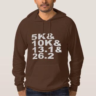 5K&10K&13.1&26.2 (wht) Hoodie
