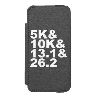 5K&10K&13.1&26.2 (wht) Incipio Watson™ iPhone 5 Wallet Case