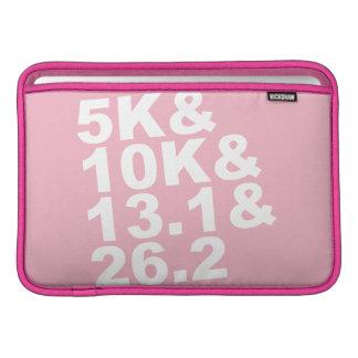 5K&10K&13.1&26.2 (wht) MacBook Sleeve