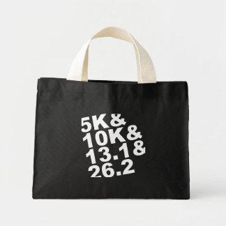 5K&10K&13.1&26.2 (wht) Mini Tote Bag