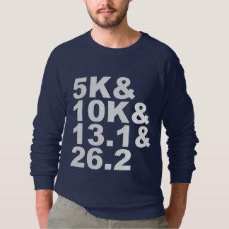 5K&10K&13.1&26.2 (wht) Sweatshirt
