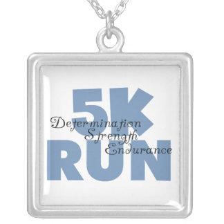 5K Run Blue Jewelry