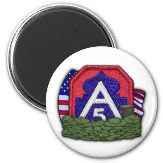 5th army patch iraq vet veteran Magnet vfw vc nam