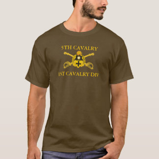 5TH CAVALRY REGIMENT 1ST CAV DIV T-SHIRT