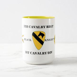 5TH CAVALRY REGT 1ST CAVALRY DIV MUG
