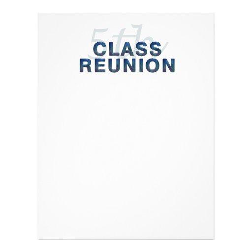 5th Class Reunion Flyers
