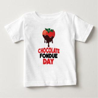5th February - Chocolate Fondue Day Baby T-Shirt
