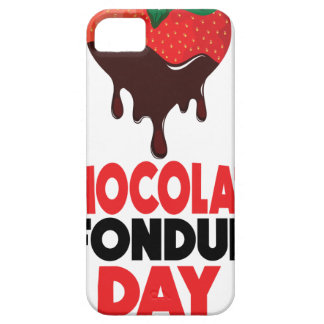 5th February - Chocolate Fondue Day iPhone 5 Cases