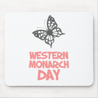 5th February - Western Monarch Day Mouse Pad