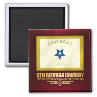 5th Georgia Cavalry Magnet