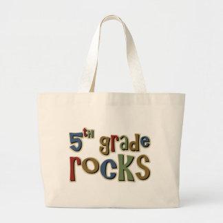 5th Grade Rocks Fifth Jumbo Tote Bag