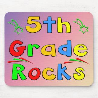 5th Grade Rocks Mouse Pad