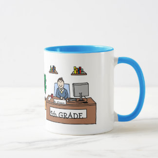 5th Grade Teacher Mug - Custom