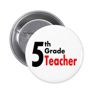 5th Grade Teacher Pin