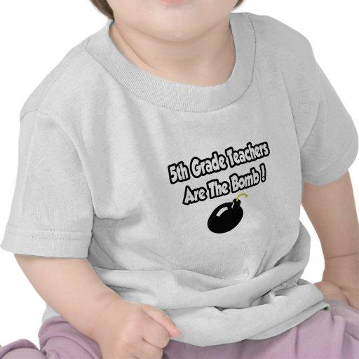 5th Grade Teachers Are The Bomb! Shirts