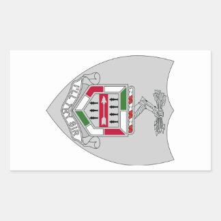 5th Infantry Regiment - I'll Try Sir Rectangular Sticker