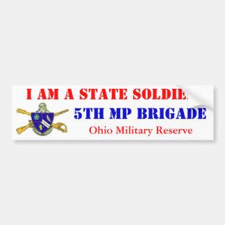 5th MP BDE OHMR Bumper Sticker
