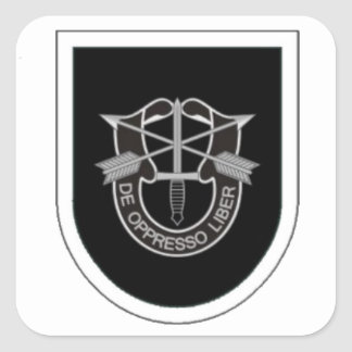 5TH SPECIAL FORCES GROUP FLASH/DUI STICKERS