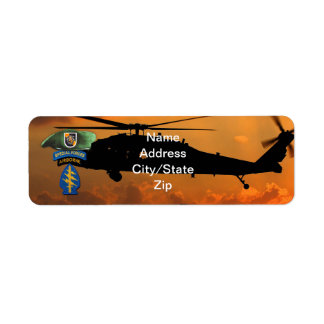 5th Special Forces Group Green Berets SF SFG Vets Return Address Label