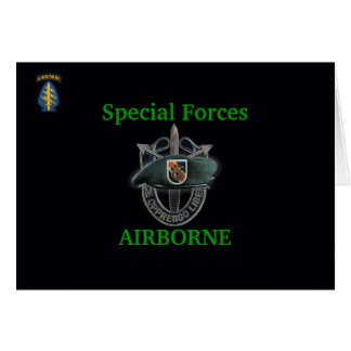 5th special forces group vietnam war vets Card
