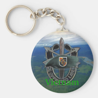 5th special forces vietnam vets group Keychain