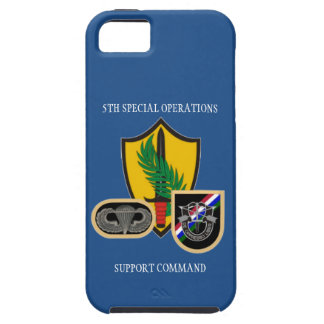 5TH SPECIAL OPERATIONS SUPPORT COMMAND iPHONE CASE