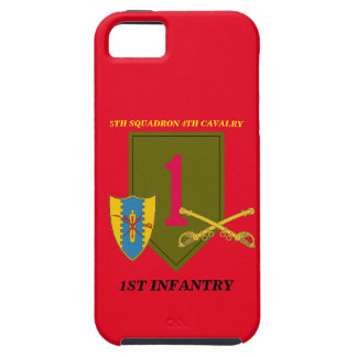 5TH SQUADRON 4TH CAVALRY 1ST INFANTRY CASE iPhone 5 COVERS