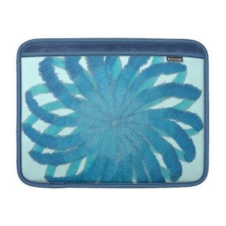 5th-Throat Chakra Blue Artwork #1 MacBook Air Sleeves