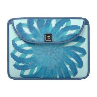 5th-Throat Chakra Blue Artwork #1 Sleeve For MacBooks