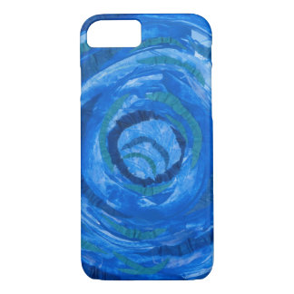 5th-Throat Chakra Blue Artwork #2 iPhone 8/7 Case