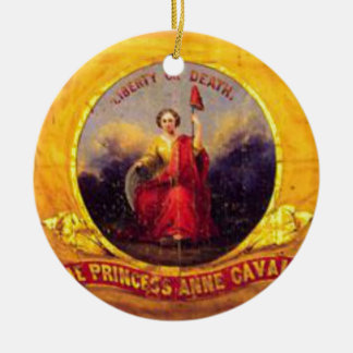 5th Virginia Cavalry  - The Princess Anne Cavalry Ceramic Ornament