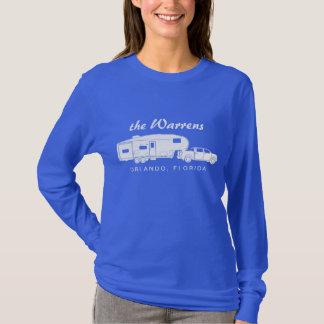 5th Wheel / Toy Hauler Silhouette Graphic T-Shirt