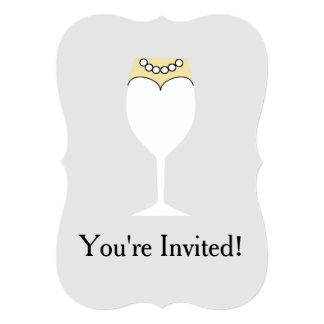 5x7 Bridal Shower Invitation Bracket