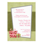 5x7 Christmas Gifts Invitation