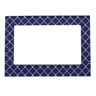5x7 Dark Blue Magnetic Trellis Frame