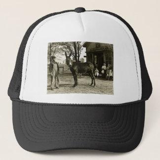 5x7 GLASS NEGATIVE  Milwaukee Mule Trucker Hat