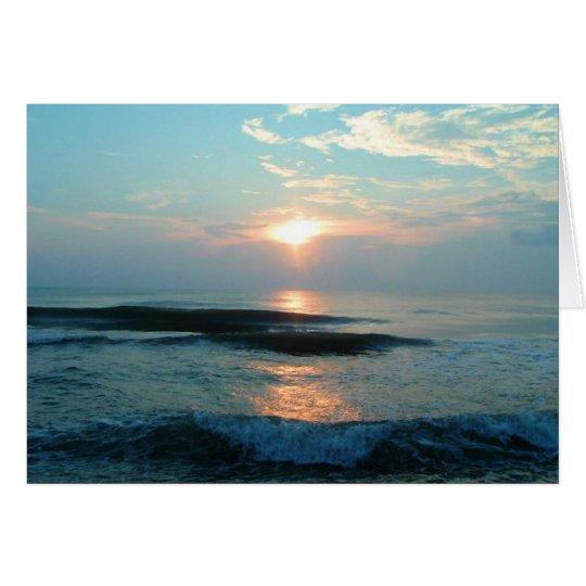 5x7 OBX Ocean Card
