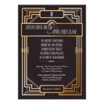 5x7 Wedding Invitation Gatsby Theme