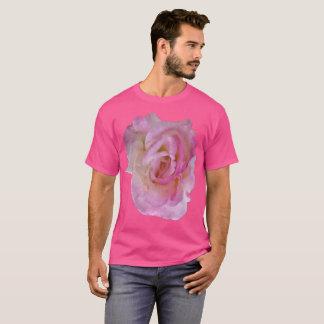5x Plus Size Pink Rose on Pink Shirt