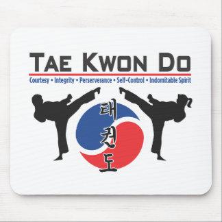 600-2 Tae Kwon Do Mouse Pad
