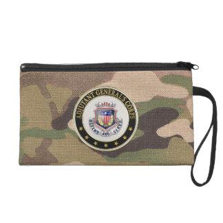 [600] AG Corps Regimental Insignia [3D] Wristlet Clutch