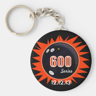 600 Bowling Series Key Ring
