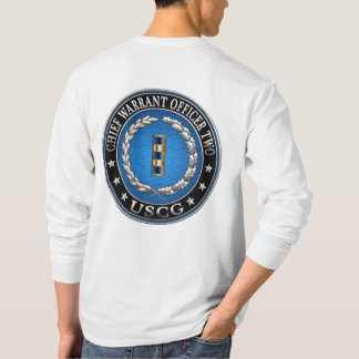 [600] CG: Chief Warrant Officer 2 (CWO2) T-Shirt