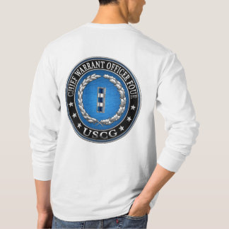[600] CG: Chief Warrant Officer 4 (CWO4) T-Shirt