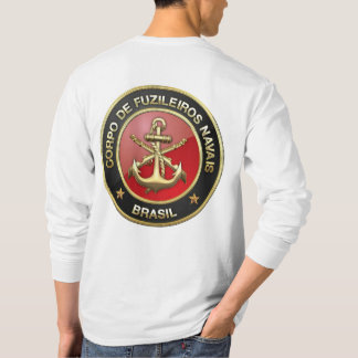 [600] Corpo De Fuzileiros Navais [Brasil] (CFN) T-Shirt