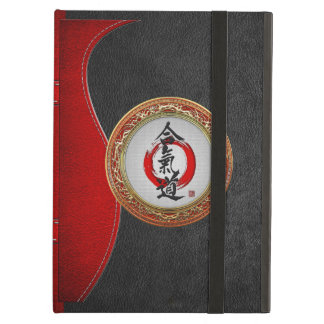 600 Japanese calligraphy - Aikido iPad Air Cases