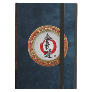 600 Japanese calligraphy - Aikido iPad Air Covers