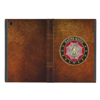 [600] Master Mason - 3rd Degree Square & Compasses Cover For iPad Mini