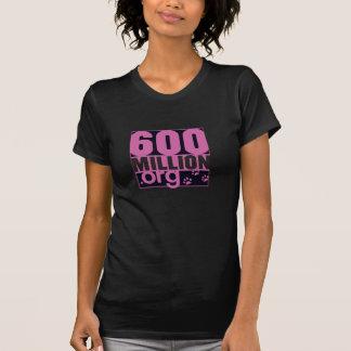 600 Million Basic Women Tshirt