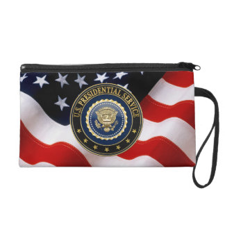 [600] Presidential Service Badge [PSB] Special Ed Wristlet Purses